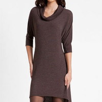 Three Dots Cowl Neck High/Low Sweater Dress   Nordstrom