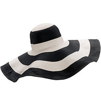 50's Stripe Retro Audrey Hat