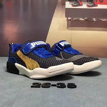 PUMA Girls Boys Children Baby Toddler Kids Child Fashion Weave Sneakers Sport Shoes