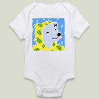 Bear In the Rain Onesy by yetzenialeiva on BoomBoomPrints