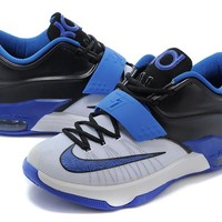 Nike Mens Kevin Durant KD 7 SE EP White/Blue/Black US7-12