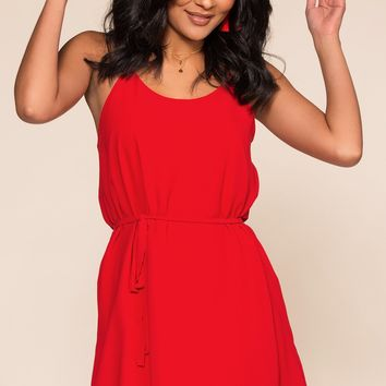 McKenna Dress - Red