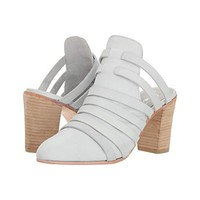 Free People Women's White Byron Strappy Mule, Size 7 (Store Display)