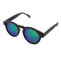 Komono Clement Sunglasses Black Rubber