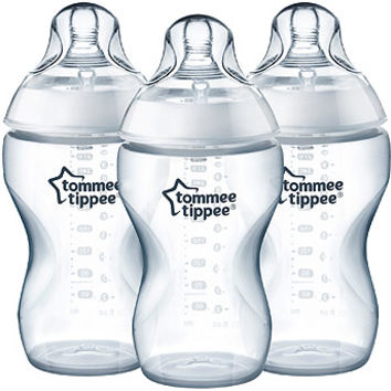 Tommee Tippee Closer to Nature 3 Pack Thick Feed 11 Ounce Bottle
