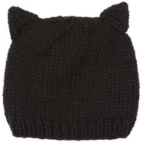 Black Cat Ear Beanie