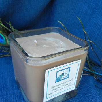Banana Nut Bread Scented Soy Candle in 12 oz Cube