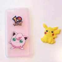 Hot Cartoon Pokemon Go Pikachu Protective Case For Iphone 6 6s plus