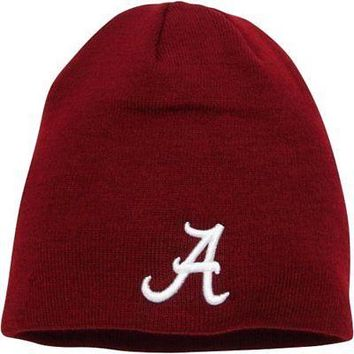 Alabama Crimson Tide Official NCAA Knit Beanie Stocking Hat Cap 950068