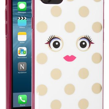 kate spade new york framed picture dot monster iPhone 7/7s case | Nordstrom