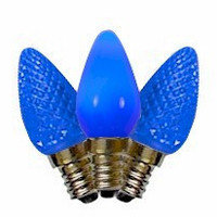 C7 Blue LED Bulbs
