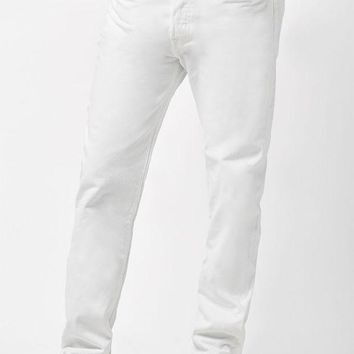 ONETOW Levi's 501 Original Fit Optic White Jeans at PacSun.com