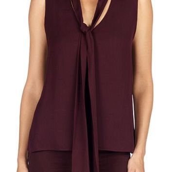 J Brand Jeans - Deep Mulberry Giovanna Blouse by J Brand,