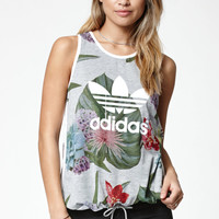 adidas Training Floral Print Tank Top at PacSun.com