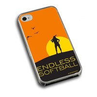 Softball iPhone 4, iPhone 4S Case Endless Softball