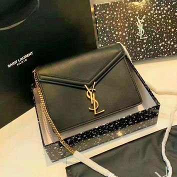 YSL High Quality Fashionable Women Shopping Leather Shoulder Bag Handbag Crossbody Satchel
