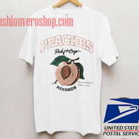 PEACHES Unisex adult T shirt