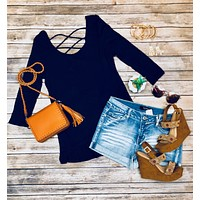 Endless Style Top: Navy