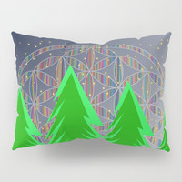 Christmas Dreamer | Christmas Spirit Pillow Sham by Azima