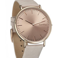 Tan Suede Soho Watch