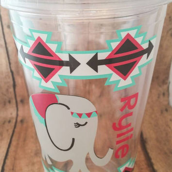 Acrylic tumbler personalized double wall tumbler acrylic cup