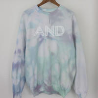 ANDCLOTHING — AND Tie Dye Sweater SOLD OUT