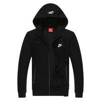 Trendsetter Nike Men Fashion Casual Cardigan Jacket Coat