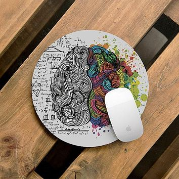 Mouse Pad Brain Desk Accessories Mousepad Office Decor Office Desk
