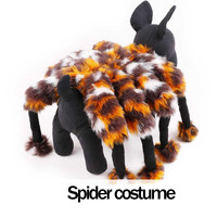 Funny Halloween Spider dog costume cosplay clothes for small dog Chihuahua Yorksire pet cat Party dog puppy clothes jumpsuit