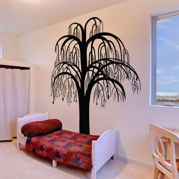 Vinyl Wall Decal Sticker Hanging Branches Tree #OS_MB1028