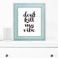 Inspirational Print, Wall Decor, Typography Wall Art, Motivational Print, Inspirational Poster, Teen Gift Ideas, Home Decor - PT0058