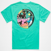 Maui And Sons Get It Together Boys T-Shirt Teal Green  In Sizes