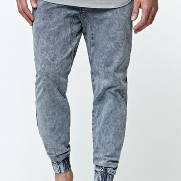 Modern Amusement Acid Jogger Pants - Mens Pants - Black