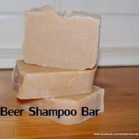 Natural Beer Shampoo Bar by RWestDesigns on Zibbet
