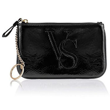 Victoria's Secret Coin Purse Cosmetic Bag Black