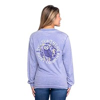 Owl Night Long Long Sleeve Tee by The Southern Shirt Co.