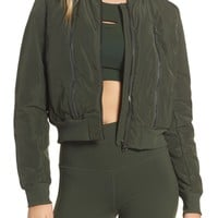 Alo Off Duty Bomber Jacket | Nordstrom