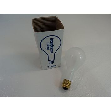 Philips 300 Watt Frost Incandescent Lamp Frost 750 Hours PS35 Series 5F-PS35-M -- New