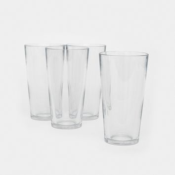 Unbreakable Pint Glasses 4-Pack