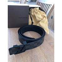 louis vuitton belt, black monogram, 110/44, new/unworn