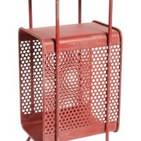 Foreside Metal Magazine Rack - Red