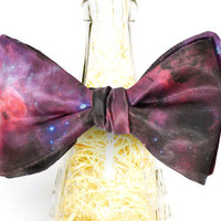 Handmade Galaxy Nebula Self Tie Bow Tie