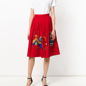 William Vintage Haitian People Embroidery Skirt - Farfetch
