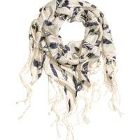 H&M Patterned Scarf $12.99