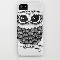 Owl iPhone & iPod Case by TeaForOneBoutique