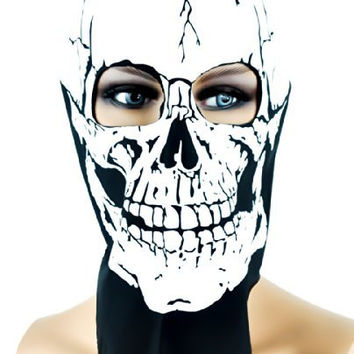 Full Face Skull Bandana / Biker Riding Mask
