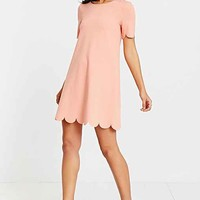 Cooperative Scallop Tee Dress-