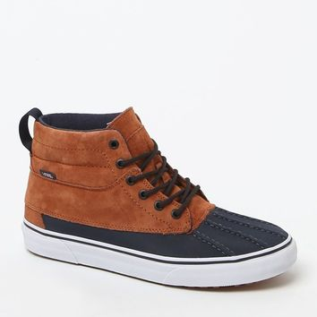 Vans Sk8-Hi Del Pato MTE Shoes - Mens Shoes - Ginger/Navy