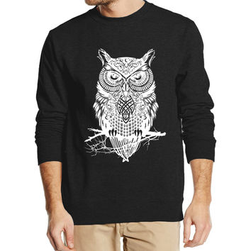 arrival style OWL animal autumn winter men sweatshirt 2016 new fashion hoodies streetwear tracksuit harajuku  clothing drake