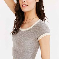 Truly Madly Deeply Cole Cropped Ringer Tee